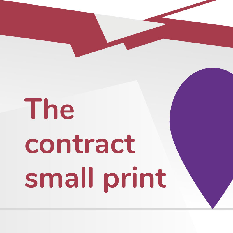Link to The Contract Small Print