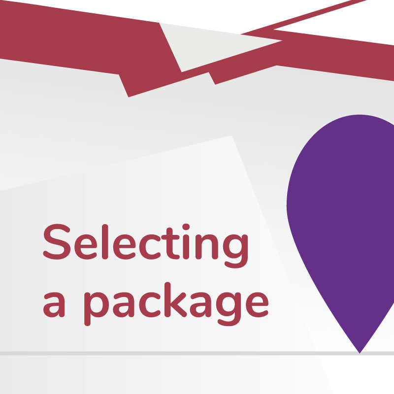 Link to Selecting a Package